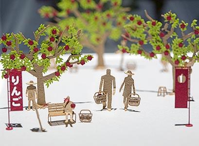 寺田尚樹 — 迷你小人紙雕展